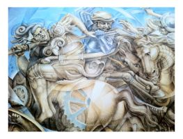 The Battle of Anghiari by AndyLaRoque