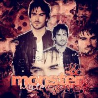 +Monster - Ian Somerhalder by SweetEditions-1DLove