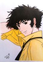 Spike Spiegel revised by shaunsmybaby