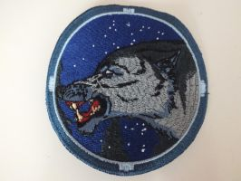 airsoft wolf patch by damenster