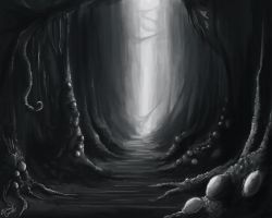 Alien Cave by Callthistragedy1