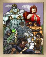 Fantasy Heroes by J. Sinclair by THE-Darcsyde