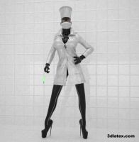 Rubber nurse by 3dlatex