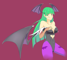 Morrigan Aensland by Neet-Hime