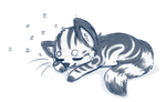 Sleepy Starcat by TheseWeirdFishes