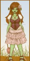 MH: OC Ogre Girl by I-heart-Link