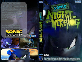 Night of the Werehog DVD Cover by Pokemon-Diamond