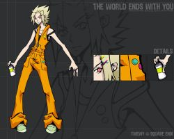 TWEWY: Hero by ultimachan