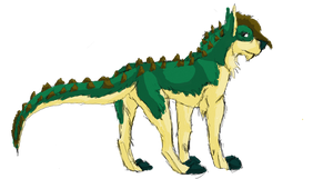 Crocadogess by Grizzled-Dog