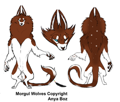 Morgul Wolf Design 2 by rainbowpanda101