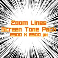 ZoomLine ScreenTone Pack 07 by Skybase