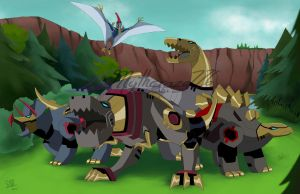 Dinobots Animated by mythcraze776