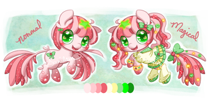 [Adoptable] Staricorn: Cherry Twinkle [CLOSED] by Sarilain