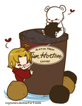 Hetalia - Canada Loves Timmies by caycowa