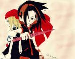 Shaman King: Yoh and Anna by DimiAnimeDeviL