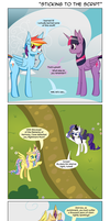 Sticking to the Script by DeusExEquus