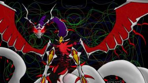 Chaos Number 92 Heart eartH Chaos Dragon by silver-wing-mk2