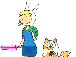 Fionna and Cake by Inglesfashion
