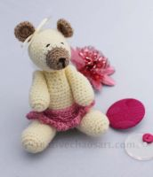 Crochet Teddy Bear by bicyclegasoline
