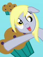 Derpy Says Hi by o0VinylScratch0o