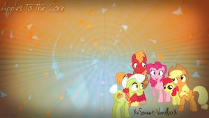 Apples To The Core background by XxSweet-VanillaxX