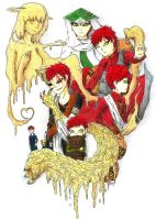 Gaara's life by DasZomby