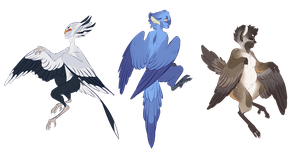 Harpy Adoptables (CLOSED) by Yupio
