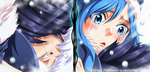Fairy tail gray and juvia by Mansour-s