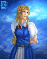 Maiden Zelda 04142012 by BLUEamnesiac