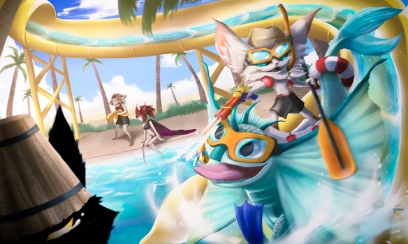 poolparty-Kled by Qu-r