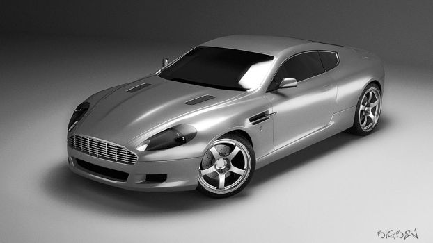 ASTON MARTIN DB9 by bigsheepNAP