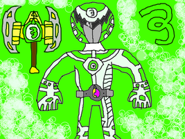 Power Rangers Electro-Zeo 5 by conlimic000