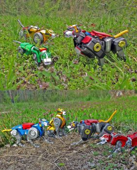 Giant Robot Lions by Unicron9