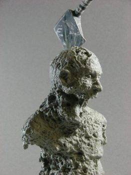 Zombie Bust by MosesJaen