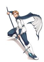 SSX: Erbium Knight by SailorAlcyone