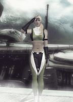 Sonya Blade - MKvsDC to MK3 by deexie