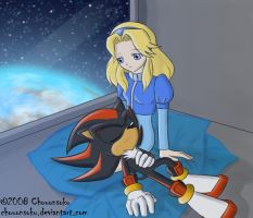 Maria and Shadow 2 by Chouonsoku