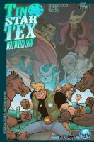 Tin Star Tex Wayward Son #1 Cover B by skulljammer