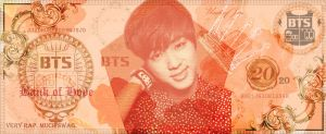 Bangtan Bucks - Jin by Brittster07