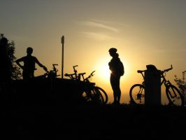 rising sun for biketrip by cy4n