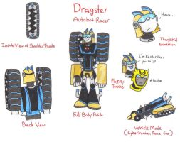 TFA OC: Dragster by yodana