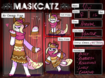 Maskcatz Reference - Vivi by Sept-creature