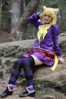 Rin Kagamine - Trick and Treat Cosplay_02 by Ka-ze-na