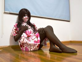 Zentai girl by mysexyzentai
