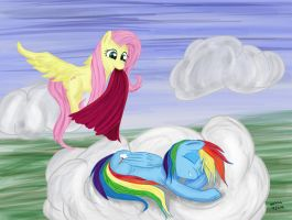 Sleeping Rainbow by ooklah