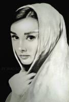 Audrey Hepburn by shadagishvili