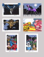 DC Legacy Sketch Cards O by tonyperna