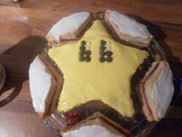 Birthday Cake 2010: Starman by lillilotus