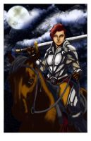 Lady Knight by 626Ghost