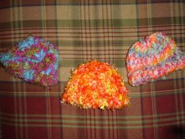 Baby hats by carriemiddleton